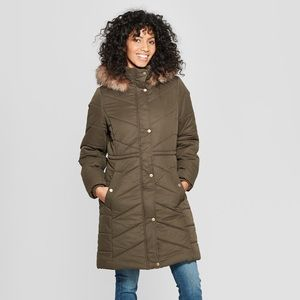 A New Day Quilted Puffer Coat (XL)